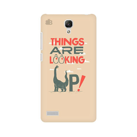 Things are looking Up Xiaomi Redmi Note Phone Cover
