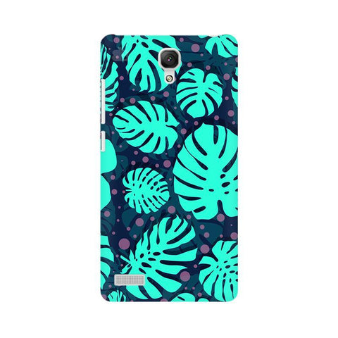 Tropical Leaves Pattern Xiaomi Redmi Note Phone Cover
