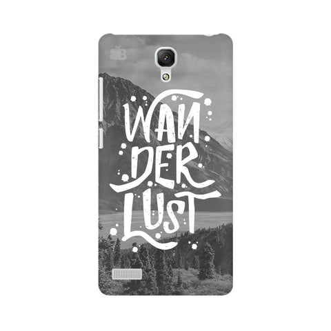 Wanderlust Xiaomi Redmi Note Phone Cover