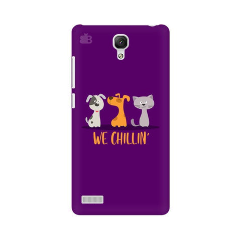 We Chillin Xiaomi Redmi Note Phone Cover