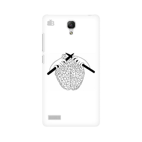 Weaving Brain Xiaomi Redmi Note Phone Cover