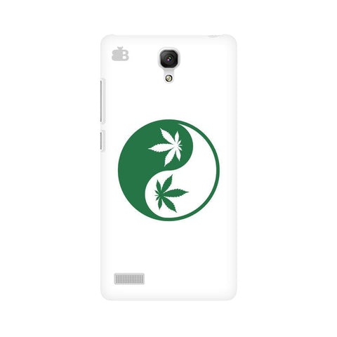 Weed Yin Yang Xiaomi Redmi Note Phone Cover