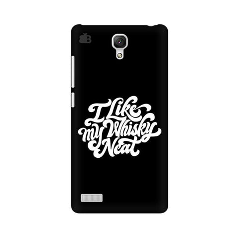 Whiskey Neat Xiaomi Redmi Note Phone Cover