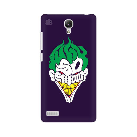 Why So Serious Xiaomi Redmi Note Phone Cover