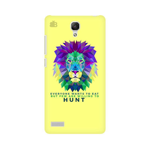 Willing to Hunt Xiaomi Redmi Note Phone Cover