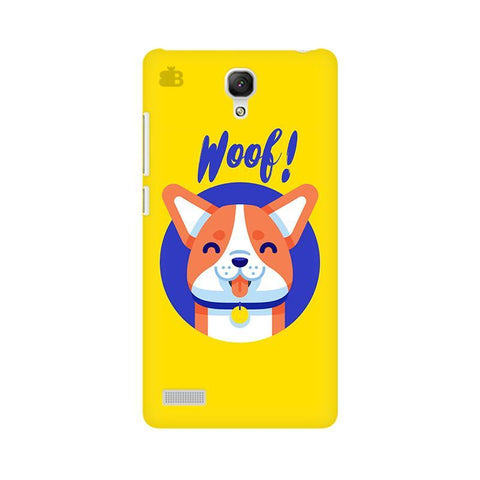 Woof Xiaomi Redmi Note Phone Cover