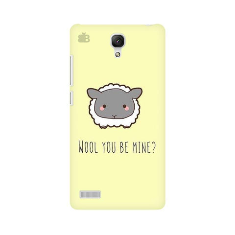 Wool Xiaomi Redmi Note Phone Cover