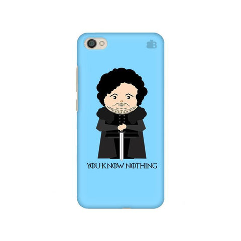 You Know Nothing Xiaomi Redmi Y1 Lite Phone Cover