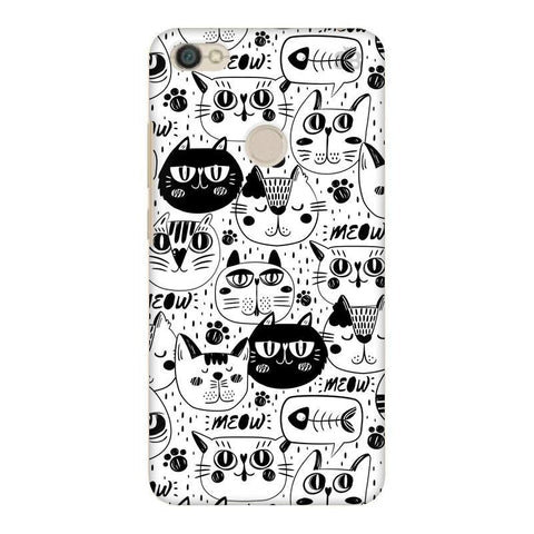 Cute Cats Pattern Xiaomi Redmi Y1 Phone Cover