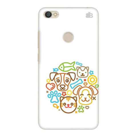 Cute Pets Xiaomi Redmi Y1 Phone Cover