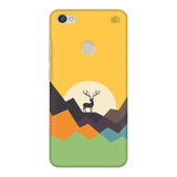 Deer in Mountains