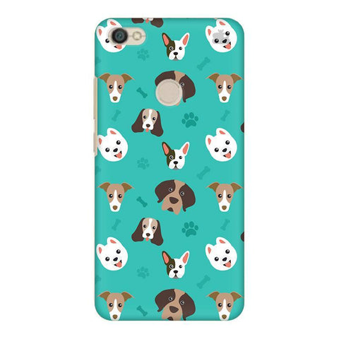 Doggie Pattern Xiaomi Redmi Y1 Phone Cover