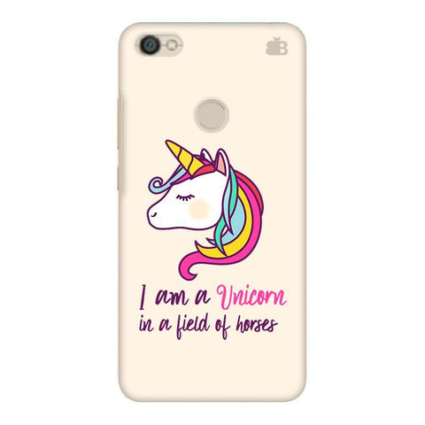 Unicorn in Horses Xiaomi Redmi Y1 Phone Cover