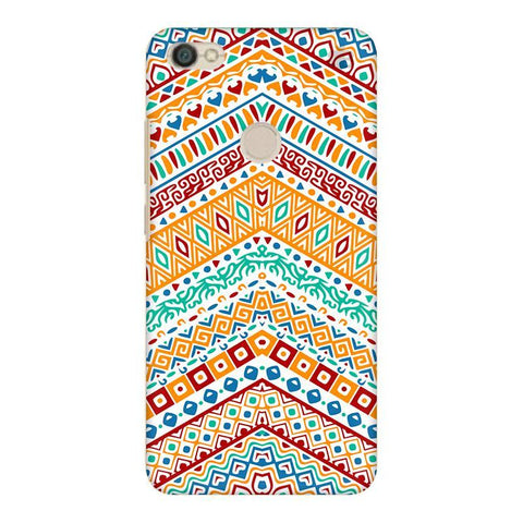 Wavy Ethnic Art Xiaomi Redmi Y1 Phone Cover