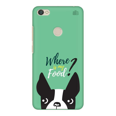 Where is my Food Xiaomi Redmi Y1 Phone Cover
