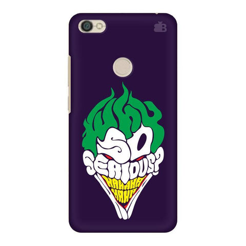Why So Serious Xiaomi Redmi Y1 Phone Cover
