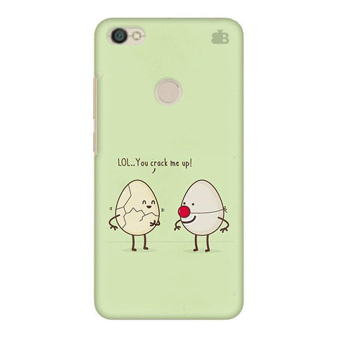 You Crack me up Xiaomi Redmi Y1 Phone Cover