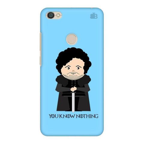 You Know Nothing Xiaomi Redmi Y1 Phone Cover
