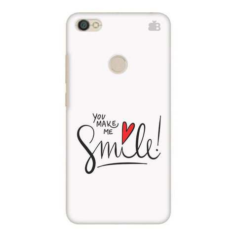 You make me Smile Xiaomi Redmi Y1 Phone Cover