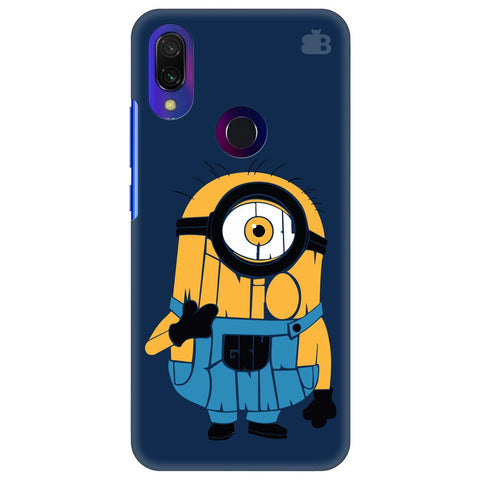 Minion Typography Xiaomi Redmi Y3 Cover