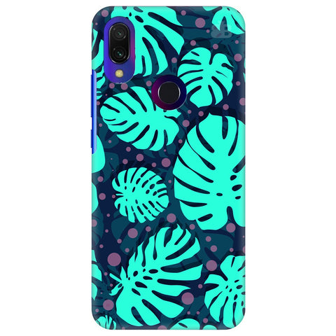 Tropical Leaves Pattern Xiaomi Redmi Y3 Cover