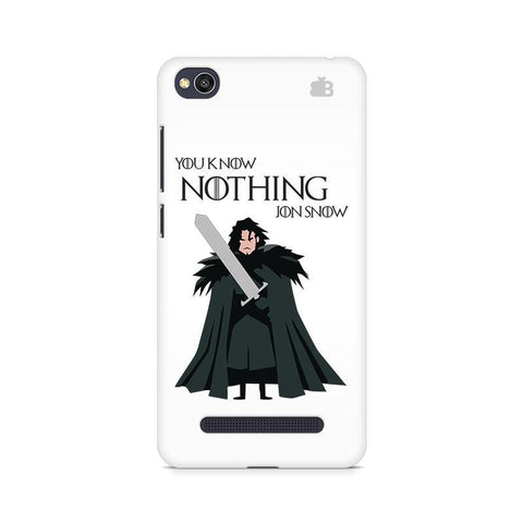 Badass Jon Snow Xiaomi Redmi  4A Phone Cover