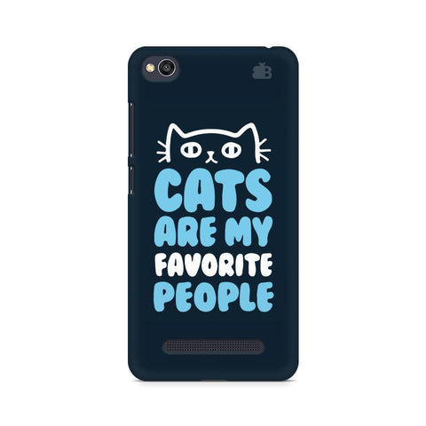Cats favorite People Xiaomi Redmi  4A Phone Cover