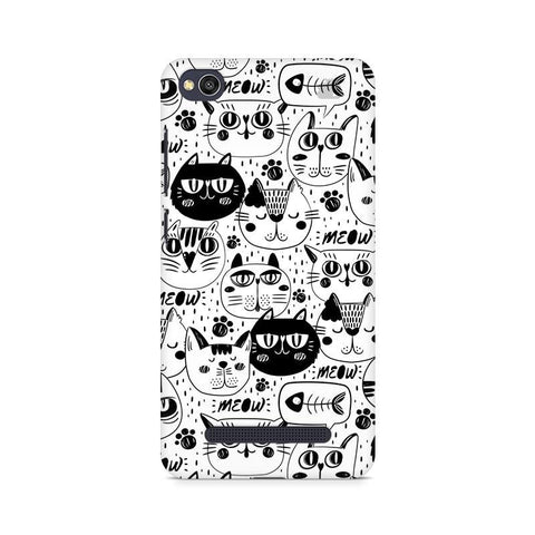 Cute Cats Pattern Xiaomi Redmi  4A Phone Cover