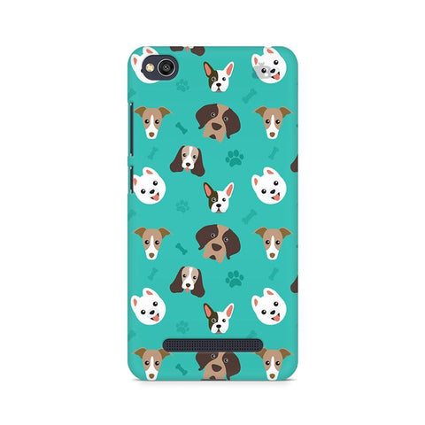 Doggie Pattern Xiaomi Redmi  4A Phone Cover