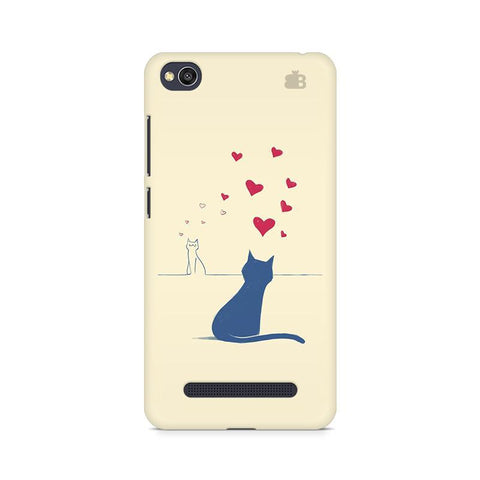 Kitty in Love Xiaomi Redmi  4A Phone Cover