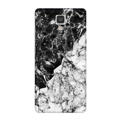 Black White Marble Xiaomi  Mi 4 Phone Cover