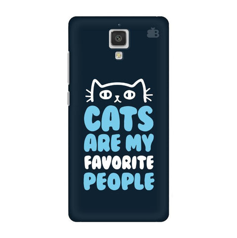 Cats favorite People Xiaomi  Mi 4 Phone Cover