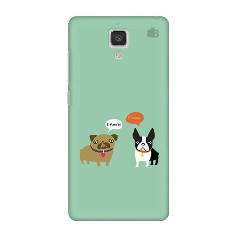 Cute Dog Buddies Xiaomi  Mi 4 Phone Cover