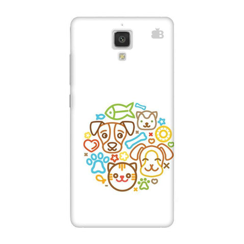 Cute Pets Xiaomi  Mi 4 Phone Cover