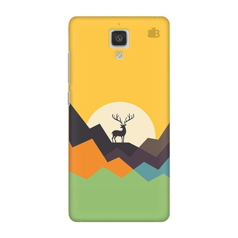 Deer in Mountains Xiaomi  Mi 4 Phone Cover