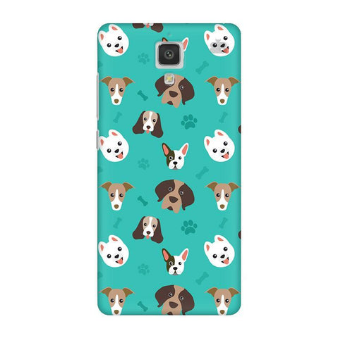 Doggie Pattern Xiaomi  Mi 4 Phone Cover