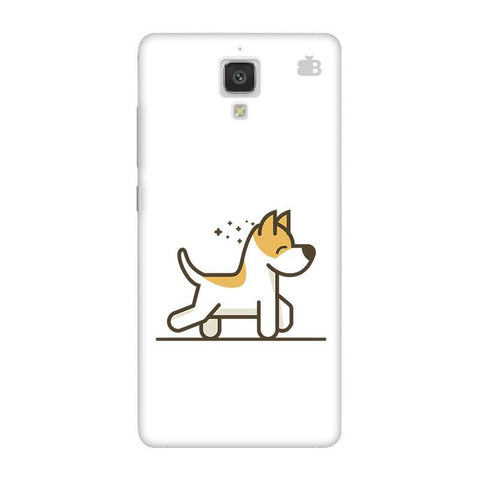 Happy Puppy Xiaomi  Mi 4 Phone Cover