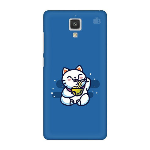 KItty eating Noodles Xiaomi  Mi 4 Phone Cover