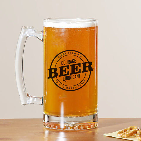 Courage Lubricant Beer Mug
