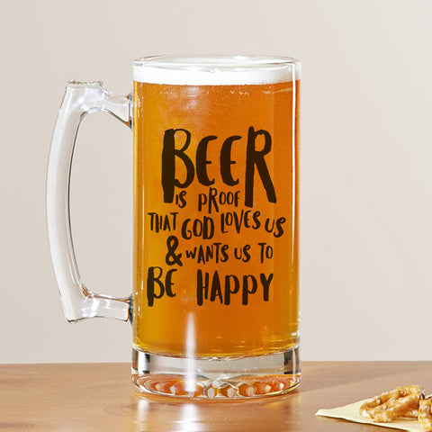 Beer Is Proof Beer Mug