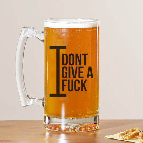 I Don't Give Beer Mug
