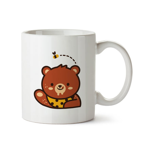 Beer Loves Honey white mug