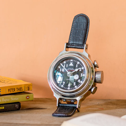 Wrist Watch Style Table Clock