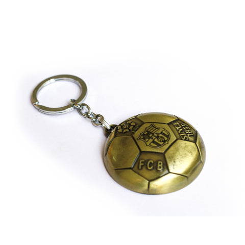 Fcb Bottle opener Golden Keychain