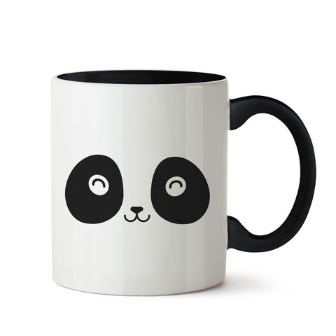 Happy Panda White Coffee Mug