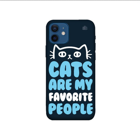 Cats favorite People iPhone 12 Mini Phone Cover