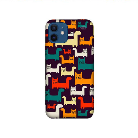 Chill Cats iPhone 12 Mini Phone Cover