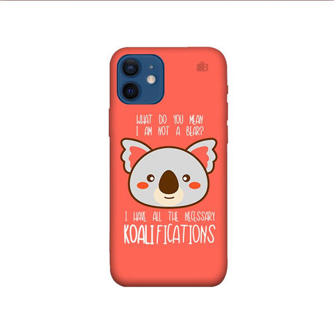 Koalifications iPhone 12 Mini Phone Cover