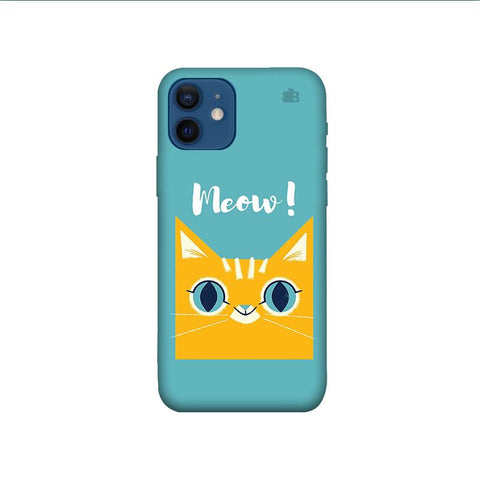 Meow iPhone 12 Phone Cover