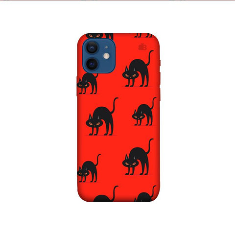 Scary Cats iPhone 12 Phone Cover